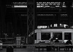 All Aboard (Joe Corll) Tags: germany leipzig leipsig deutschland deutschlande deutsch deutsche hauptbanhoff hauptban train trains trainstation station stations choochoo choo subway blackandwhite black white bw mono chrome monochrome