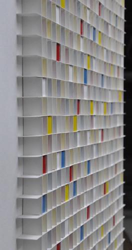 herman coppus zijaanzicht papierraster met primaire kleuren