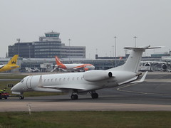 9H-WFC Embraer Legacy 600 Air X Executive Jets GMBH (Aircaft @ Gloucestershire Airport By James) Tags: manchester james airport air jets x 600 executive legacy lloyds embraer bizjet egcc gmbh 9hwfc