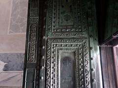 Bronze door from a greek temple (sixthland) Tags: turkey istanbul hagiasofia ayasofya rx100m2