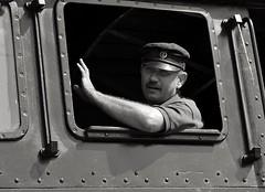 FP2240M (attila.stefan) Tags: portrait blackandwhite hungary pentax 85mm rail railway steam stefan stefn attila magyarorszg 2016 k50 gyor gyr portr samyang