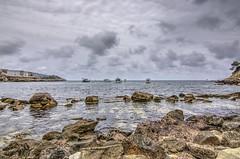 HDR St Elm (Felipe Quetglas) Tags: hdr mallorca spain sea rocks clouds nubes cielo sky