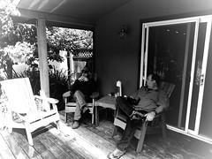 Relaxing near Lyle, Washington in Monochrome (ctstetson) Tags: blackandwhite monochrome outdoors relaxing lyle lylewashington ctstetson