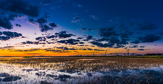 Hecla 1.3 (Jack Lefor) Tags: southdakota landscape fineart scenic nikond810 reflectionsclouds lakewatersunsetpanoramapanoramicnikonmarsh