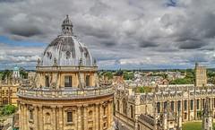 OXFORD (toyaguerrero) Tags: uk inglaterra england stone architecture university britain radcliffecamera saintmarythevirgin oxforshire maravictoriaguerrerocataln toyaguerrero