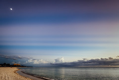 DSC_0620 (juor2) Tags: parallel sky d750 nikon scene caribbean sea sunset moon beach ancon playa de cuba trinidad cloud crepuscular reflection rays