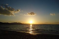 Just feel... (Argyro...) Tags: sunset sea sky cloud seascape beach water greece chalcis   alykesdrossias