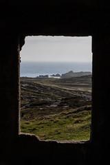 Malin Head (ghostwheel_in_shadow) Tags: ireland window coast europe ruin eire coastal donegal connaught malinhead republicofireland architecturalelement banbascrown architectureandstructures