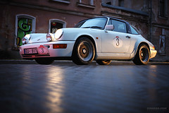 Night Rally (Rawcar.com Photography) Tags: classic car race vintage rally 911 racing turbo porsche classics oldtimer