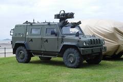 Panther (goweravig) Tags: uk swansea wales army vehicle british panther foreshore swanseabay lmv wnas16 lightmilitaryvehicle