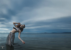 Poseiden Reimagined (Cambiguous) Tags: cambiguous mike morash productions photography photographer greek myth poseidon water ocean victoria bc yyj vancouver yvr canon 6d sigma 35mm dark surreal model beauty fantasy