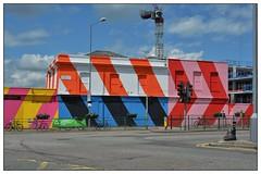 Vibrant ... (junepurkiss) Tags: streetart london vibrant colourful oldbuilding walthamstow