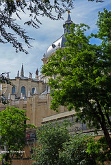 the cathedral of Madrid (greg luengen) Tags: madrid architecture spain cathedral almudena kathedrale spanien