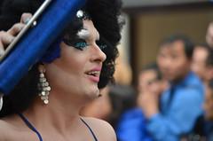 Blue Eyes (G Reeves) Tags: show life street city carnival people urban men london outside town rainbow nikon streetphotography pride parade event lgbt metropolis rainbowflag londonpride garyreeves nikond5100