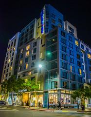 Hotel Indigo San Diego-Gaslamp Quarter at Night - San Diego CA (mbell1975) Tags: california ca usa night america hotel us san unitedstates sandiego indigo diego calif cal american gaslamp quarter ihg diegogaslamp