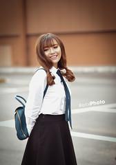 E6 (erik_bui_89) Tags: woman cute student nikon human beautifull emart