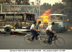 0000240333-038 (ngao5) Tags: china people bus bicycle soldier fire death student blood asia tank evacuation massacre victim protest beijing flame crime transportation murder shooting 1989 ontheground tiananmensquare atnight stretcher peoplesliberationarmy socialaction peoplesrepublicofchina dispute demonstrator stretchedout politicalandsocialissues martiallaw beijingmunicipality historicevent asianhistoricalevent externalview antigovernment stateofsiege politicalcrisis peopleofasia armoredtankvehicle soldierposture demonstrationagainst demonstratorattitude chinesearmedforces chinesehistoricalevent politicalrepression peoplearmyandpolice militarytruck militaryconvoy chinesepolitics chineseweapon peopleofchina oppositionmovement asianpolitics june1989 tiananmensquareprotest1989 asianarmy militaryrepression destroyedobject socialincident t62tank asianweapon socialissuesinasia demonstrationinasia violentdemonstrator demonstrationinchina politicaltrendsofchina socialissuesinchina woundeddemonstrator politicaltrendsofasia