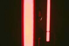 forum (.Till) Tags: reflection red grain portrait forum bielefeld night nightlife club party dance glasses light