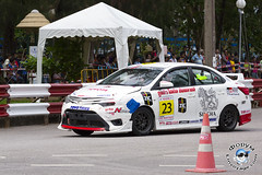 XOKA5901bs (www.linvoyage.com) Tags: race fun thailand day fast toyota phuket fest corolla furious vios yaris altis trd hilux