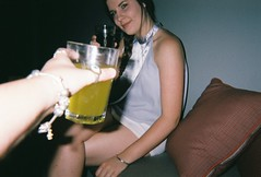 cheers (hannekabanneka) Tags: girls girl smile drunk polaroid pretty drinking australia drinks alcohol perth indie cutegirl alternative prettygirl prettygirls disposable drunkgirl smilinggirls smilinggirl cutegirls drunkgirls softgrunge