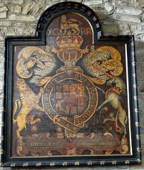Whitchurch, Warwickshire (Sheepdog Rex) Tags: royalarms stmaryschurch whitchurch