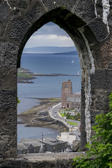 Vue depuis une des fenêtres de la McCaig's Tower