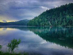 Fin d'après-midi au lac Carmel