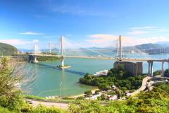 IMG_9108 -  Ting Kau (Mak_Ho) Tags:  tingkaubeach  tingkau  tingkaubridge  tsingmabridge  sandybeach  sea  wave  tides  scenicphoto  scenicsites  landscape  summer  photography  newterritories  canon 700d hongkonglandscape  hongkong