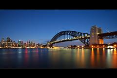 Greetings from Sydney (Xenedis) Tags: australia bluehour bridge buildings city dawn kirribilli morning nsw newsouthwales skyline sydney sydneyharbour sydneyharbourbridge twilight cityscape fh ig