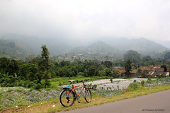 View of Mt. Merbabu (denmasbrindhil) Tags: bicycle yogyakarta bicycletouring daytrip magelang selo muntilan mountmerapi mountmerbabu boyolali selopass