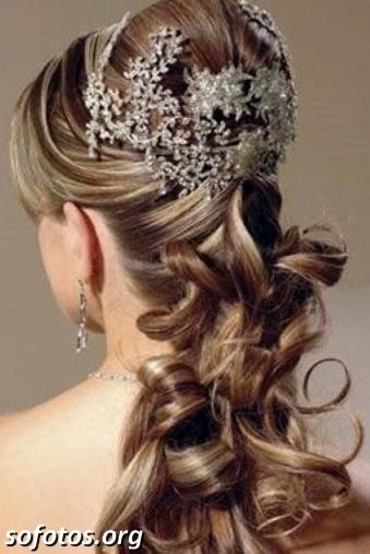 Penteados para noiva 123