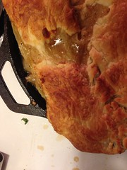 Butternut squash pot pie (mbanta) Tags: pie pot squash butternut uploaded:by=flickrmobile flickriosapp:filter=nofilter