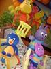 Backyardigans 2 (alinepbuttler) Tags: horse elephant rabbit cars chicken vidro galinha arte circo dale circus farm clown artesanato lion frog escultura infantil carros chip sapo mate festa coelho decoração cavalo isopor esculpture leão tico palhaço mcqueen painel elefante teco tecido cinderela decoracao fazendinha backyardigans dinossaur cocoricó dinossauro fibra esculpido