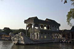The Marble Boat (D.M.C.M) Tags: china canon boat beijing unesco  summerpalace  marbleboat bateau chine haidian pkin  palaisdt yhyun   60d qingyanfang dmcm chgoku bateaudemarbre shifang worldheritagessites zhnghurnmngnghgu