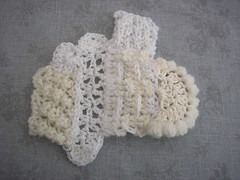 May and June challenge (crochetblue) Tags: white texture crochet freeform scrumble freeformcrochet scrumbling