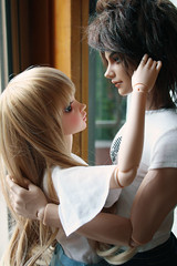 date4 (babychan80) Tags: real couple doll skin chloe sd claude bjd fairyland 65 iplehouse feplee