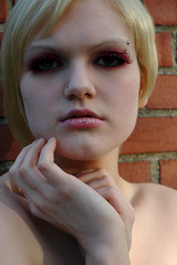 14 (RebeccaLynnPhotography8) Tags: pink portrait female photoshop makeup cannon expressive editing piercings artistry