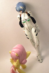 Friendship (FunnyChaos) Tags: is neon friendship little magic pony genesis rei evangelion ayanami my revoltech