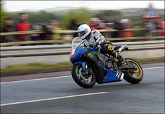 NW200 2013 Paul Gartland (Eggy Boil) Tags: road wet evening roundabout link thursday damp superstock 2013 nw200 ballysally