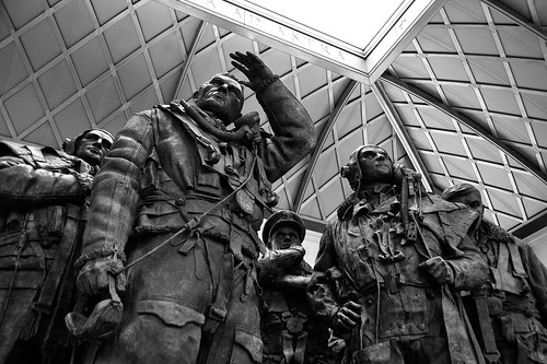 Bomber Command Memorial, Green Park, London 12/03/2013