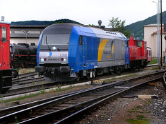"LTE 2016.903 "" Maria"" (LTE 1216) Tags: maria siemens eisenbahn lokomotive lok 2016 diesellok er20 eurorunner lte gkb europeanbulls kflacherbahnhof"