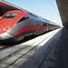Frecciarossa ETR 500 high-speed train, Napoli Centrale Station, Naples, Campania