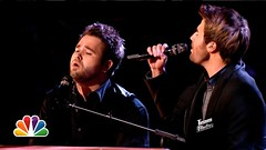 The Swon Brothers Defining Moment Dannys Song THE VOICE  Season Four Final (HOLLYWOOD JUNKET) Tags: music television june zach nbc tv video team brothers performance entertainment final colton reality 17 blake season4 swon 2013 singingcompetition coltonswon teamblake nbcthevoice 0835pm theswonbrothers zachswon thevoiceseasonfour