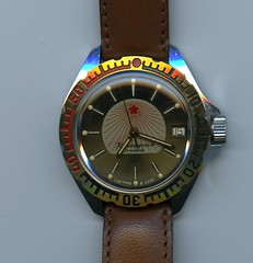 Vostok Rising Star (JojaOnline - Крокодил) Tags: watch soviet russian orologio 2409 vostok russo risingstar sovietico komandirskie