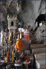 Pak Ou Caves_2761 (Dutch Simba) Tags: trip travel river buddhism caves laos mekong luangprabang excursion travelphotography pakou banpakou tamting