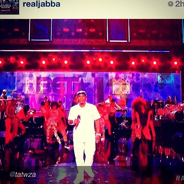 """S/O the Homie @realjabba at the 2013 BET Awards!!!"" @hot97 #hot97city"