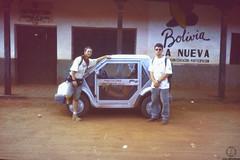 Pocket Car (JF Sebastian) Tags: portrait car friend bolivia thatsme scannedslide takenby rutaquetzal digitalized sanignaciodevelasco morethan100visits rutaquetzal1996 oldfilmautomaticcamera