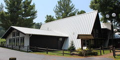 Mt. La Crosse_white standing seam metal