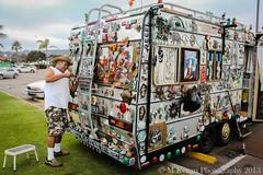 time for maintenance (Michael Kenan) Tags: ocean california ca art beach car point bay san diego rv camper loma