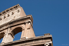 Rome - Colosseum and Sky - 04.jpg (Kevin Dern) Tags: sky italy rome europe politics minimal colosseum fave etsy minimalism 500px rebelxti 1855is